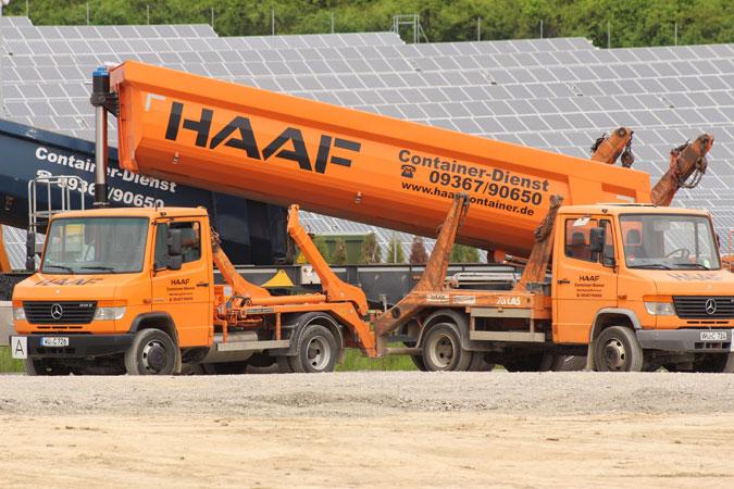 HAAF Containerdienst LKW