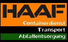HAAF Containerdienst
