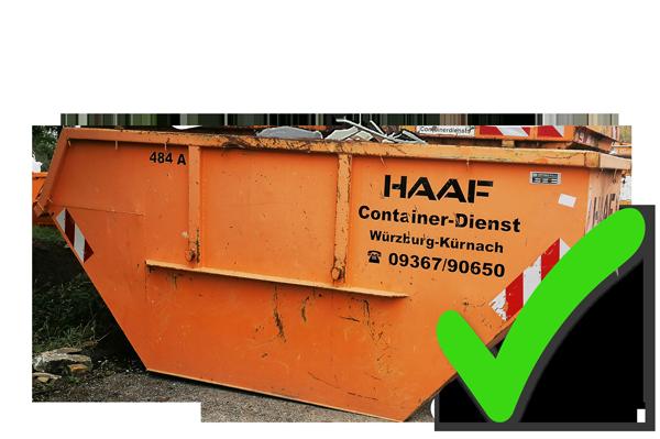 Containerdienst HAAF