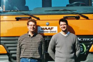 Alexander und Markus Haaf