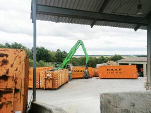 Containerumladung