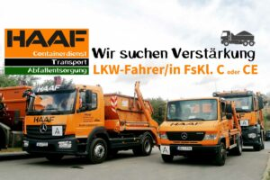 Verstärkung LKW-Fahrer